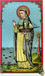 [Saint Peter holy card]